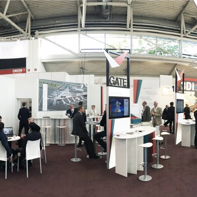 GATE Messestand auf der INTER AIRPORT EUROPE 2015